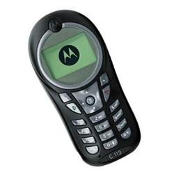 Unlocking by code Motorola C113