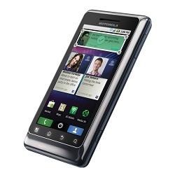Unlocking by code Motorola Milestone XT883