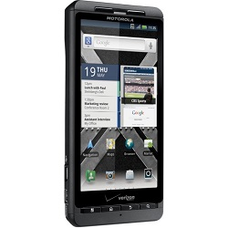 Unlocking by code Motorola Droid X MB810
