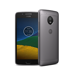 Unlocking by code Motorola Moto G5