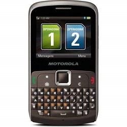 Unlocking by code Motorola EX115