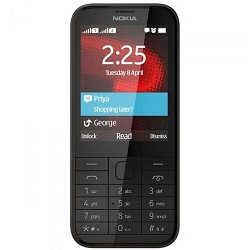 Unlocking by code Nokia 225 Dual