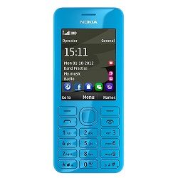 Unlocking by code Nokia 206
