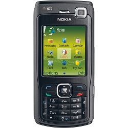 Unlocking by code Nokia N70 Music Edition
