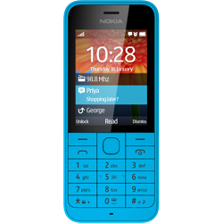 Unlocking by code Nokia 220