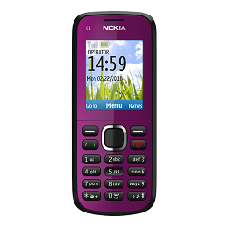 Unlocking by code Nokia C1-02