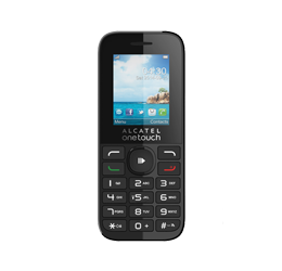 Unlocking by code Alcatel OT-2036A