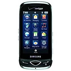 Unlocking by code Samsung U820 Reality