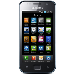 Unlocking by code Samsung i9000 Galaxy S