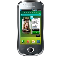 Unlocking by code Samsung Naos Galaxy
