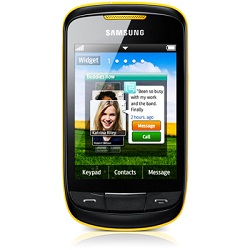 Unlocking by code Samsung S3850 Corby II