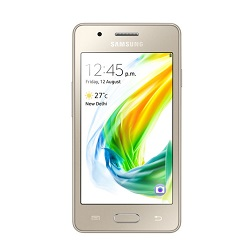 Unlocking by code Samsung Z2