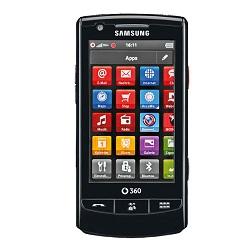Unlocking by code Samsung Vodafone 360 M1