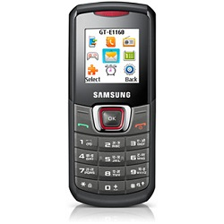 Unlocking by code Samsung E1160 Guru