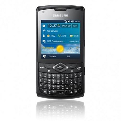 Unlocking by code Samsung Omnia PRO