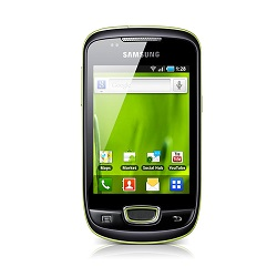 Unlocking by code Samsung GT-S5570 Mini