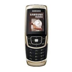 Unlocking by code Samsung E830