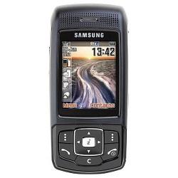 Unlocking by code Samsung P200