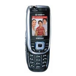 Unlocking by code Samsung E860