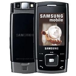 Unlocking by code Samsung E900