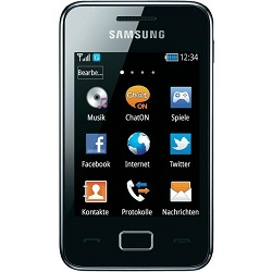 Unlocking by code Samsung GT-S5220