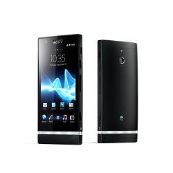 Unlocking by code Sony Xperia P