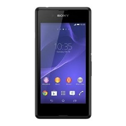 Unlocking by code Sony Xperia E3 Dual