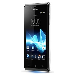 Unlocking by code Sony ST26i