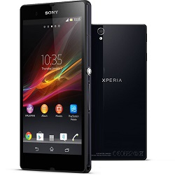 Unlocking by code Sony Xperia ZR