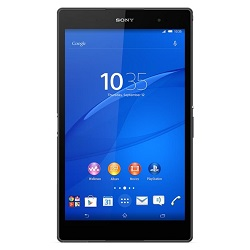 Unlocking by code Sony Xperia Z3 Tablet Compact