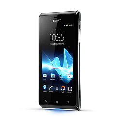 Unlocking by code Sony Xperia J