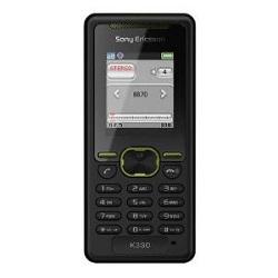 Unlocking by code Sony-Ericsson K330i